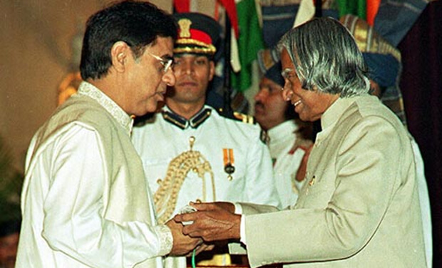 Jagjit Singh Awarded by Dr. Abdul Kalam
